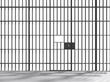 prison bars: prison Stock Photo