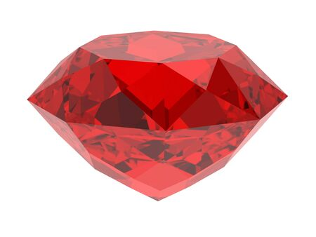 ruby stone: ruby Stock Photo