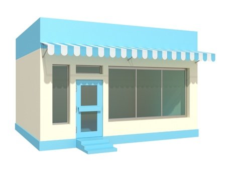 store front: shop Stock Photo