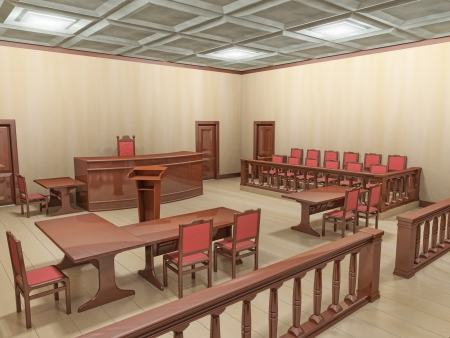jury: courtroom
