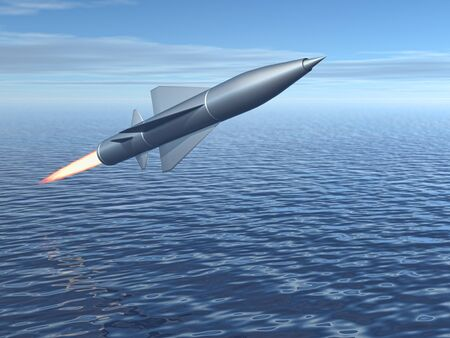 missiles: missile Stock Photo