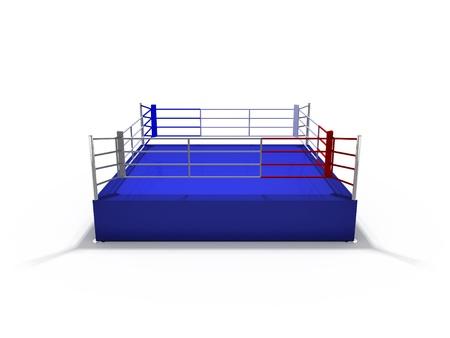 boxing ring: ring Stock Photo
