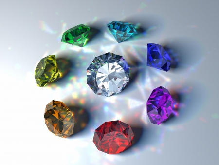 gems Stock Photo - 18453612