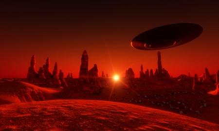 najechać: Mars Zdjęcie Seryjne
