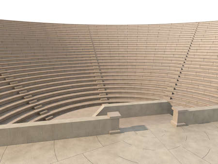 amphitheater: theater Stock Photo