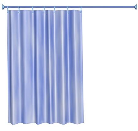 cortinas blancas: cortina de la ducha