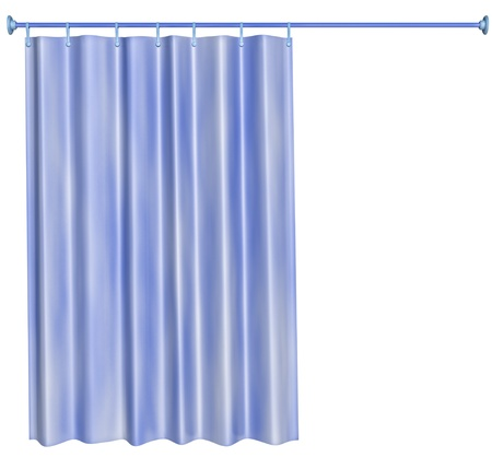 curtain: shower curtain