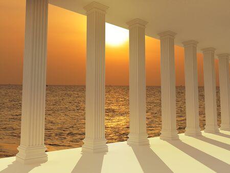 columns Standard-Bild