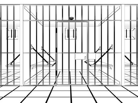 prison Stock Photo - 18312853