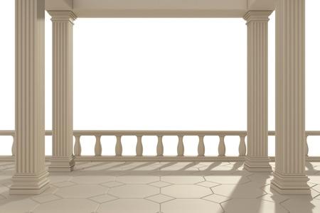 arcos de piedra: edificio