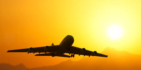 mountin: airplane