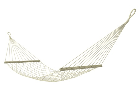 hammock on a white background
