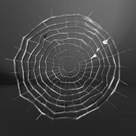 cracked glass Stock Photo - 19060207