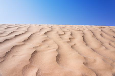 sand dune: desert Stock Photo