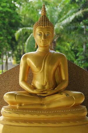 lord buddha: Ancient Lord Buddha Statue in thailand Stock Photo