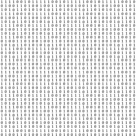 Abstract background in the form of binary code Stock Photo - 17015558