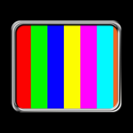 Abstract screen which shows the color bars Stock Photo - 17015620