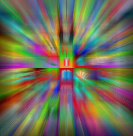 necessities: Abstract futuristic blurred color background for designers for various necessities  Stock Photo