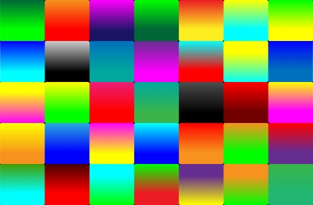 Abstract colorful background consisting of colored squares for designers for various necessities  Vector