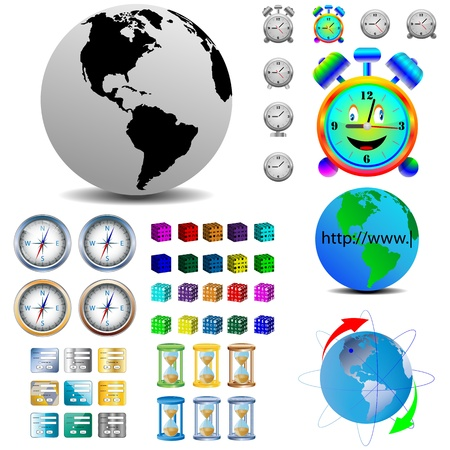 Eine kleine Sammlung von verschiedenen Web-Design-Elemente für Web-Designer für verschiedene Bedürfnisse