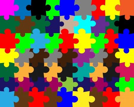 Abstract color background in bunten Mosaiksteinchen für Designer für verschiedene Bedürfnisse Illustration