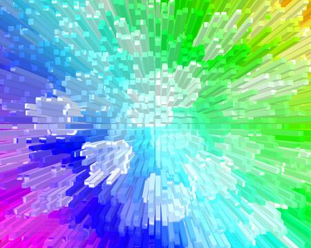 Abstract colorful background instill composed of pixels for designers for different necessities  Stock Photo - 18173483
