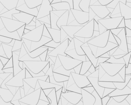 Background consisting of set of envelopes for designers for various necessities  photo