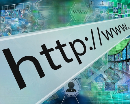 webhost: Many abstract images on the theme of computers, Internet and high technology.