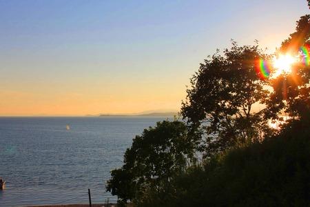 Foto que muestra el mar y las islas. Foto de archivo - 84373052