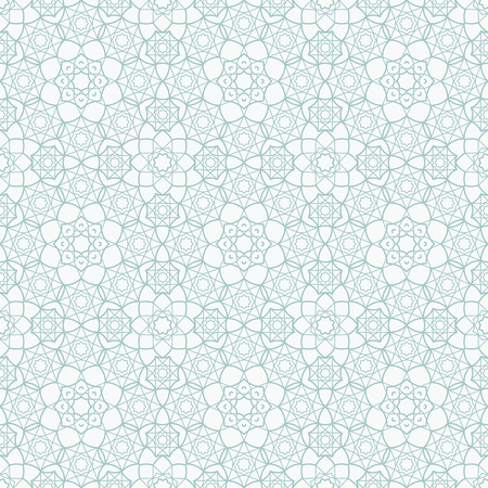 islamic pattern: Background with Islamic Seamless Pattern. Vector illustration