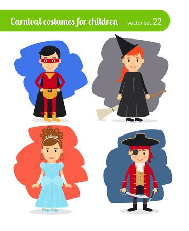 dressing up party: Kids wearing costumes