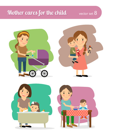 illustrate: Mother and Child