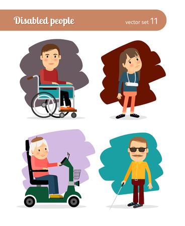 discapacidad: Gente discapacitada