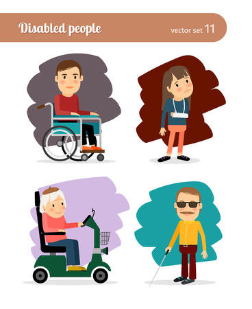 discapacitados: Gente discapacitada