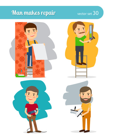 repair man: Home Repair Man Characters