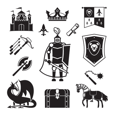 knighthood in middle ages icons medieval ancient armor and coat