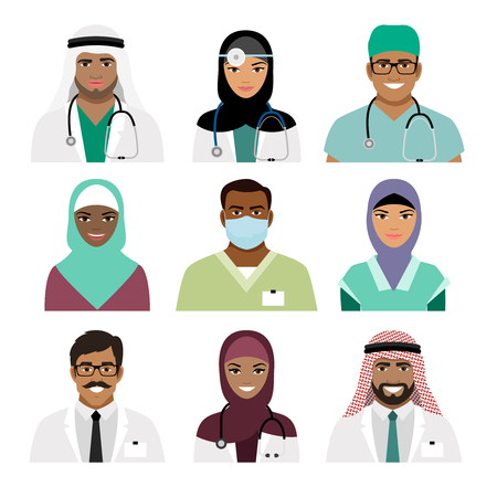 118 Surgeon Different Professions Professions Stock Illustrations