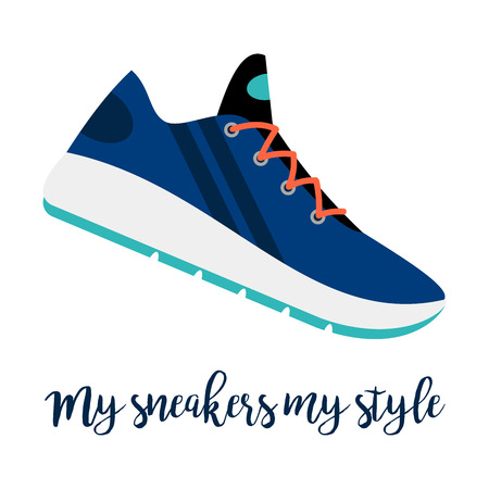 My sneakers my style shoe icon