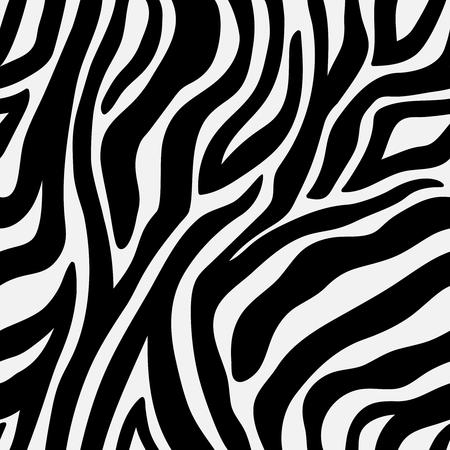 Animal pattern zebra seamless background with line. Illustration of seamless pattern background, animal wildlife zebra skin vector