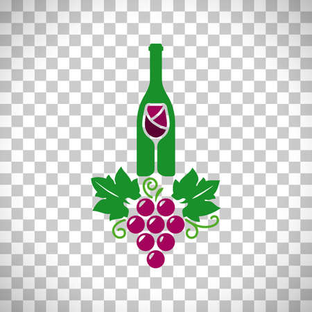 Wine logo transparent background