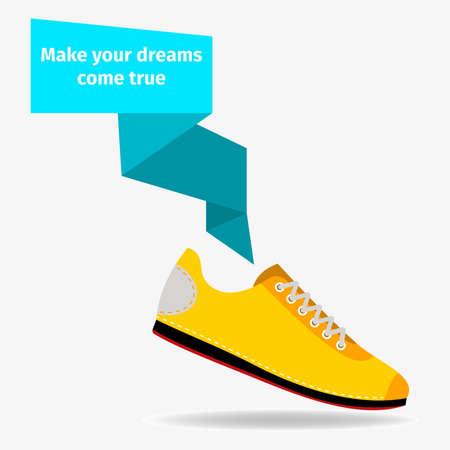 Sport shoes concept