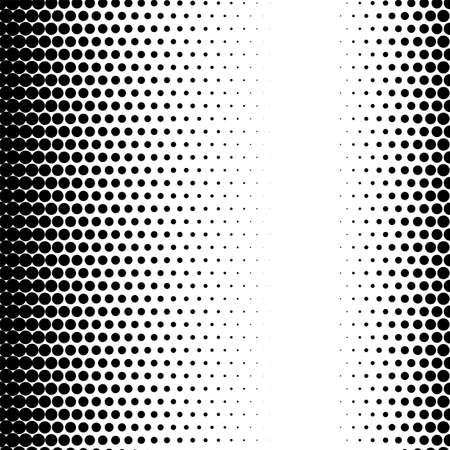 Halftone circle dots gradient texture pattern graphic raster effect