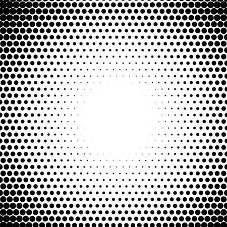 circle fade Halftone dots pattern radiate Half tone gradient