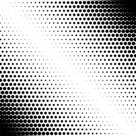Halftone dots pattern matrix dpi futuristic circles black wallpaper