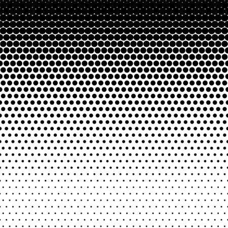 Duotone stipple Half tone fade texture, Halftone dots pattern Vettoriali