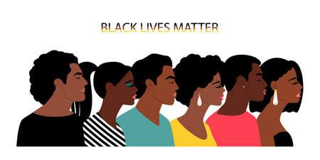 Black lives matter people