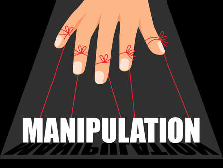 Manipulation control master Vettoriali