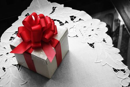 Christmas surprise gift box Stock Photo - 17320913