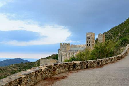 costa: Costa Brava-monastery