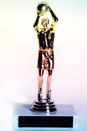 Basketball trophy. Stock Photo